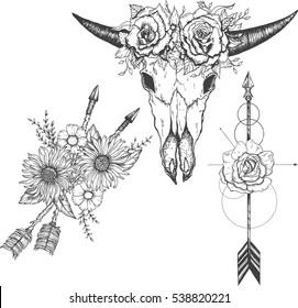 Imágenes Fotos De Stock Y Vectores Sobre Bohemian Tattoos