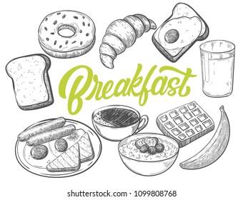 Breakfast Food Images, Stock Photos & Vectors   Shutterstock