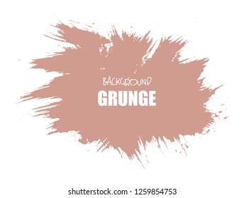 Hand drawn brush stroke. Grunge design element.Artistic hand drawn background.