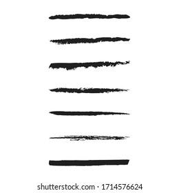 Hand Drawn Brush Stroke vector