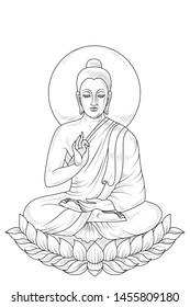 Black Buddha Drawing Images, Stock Photos & Vectors ...