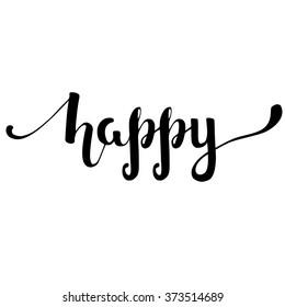 happy words images stock photos vectors shutterstock