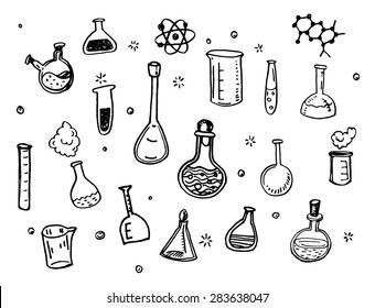 Test Draws On Doodles To Spot Signs Of >> Test Tube Drawing Images Stock Photos Vectors Shutterstock