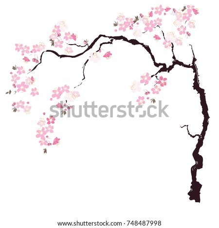 Cherry Blossom Tree Template