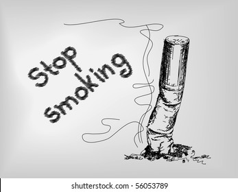 Cigarette Drawing Images Stock Photos Vectors Shutterstock
