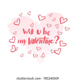 Will U Be My Valentine Images Stock Photos Vectors Shutterstock