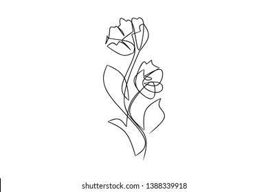 hand drawn design Floral set flowers, leaves  elements in sketch style. Perfect for invitations, greeting cards, tattoo, prints Vector illustrations
