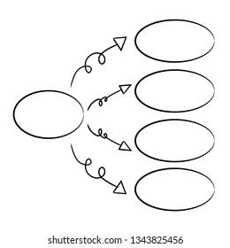 hand drawn diagram template