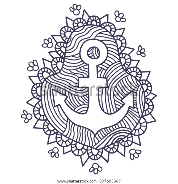 Anchor Coloring Pages