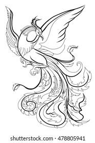 Phoenix Tattoo Images Stock Photos Vectors Shutterstock