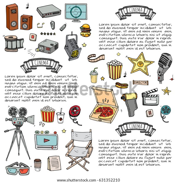 Movie Clipart Movie Day - Movie Day Clipart - Png Download - Full Size  Clipart (#1340279) - PinClipart