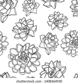 Hand drawn doodle style seamless pattern. white background. stock vector illustration