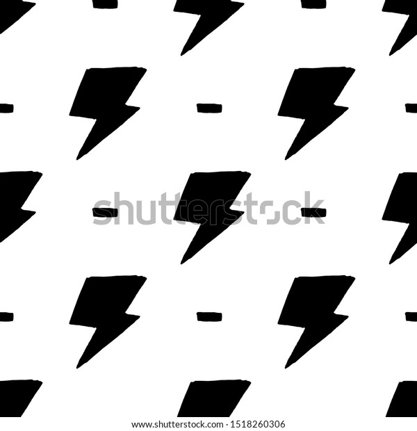 Hand Drawn Doodle Thunder Backdrop Seamless Stock Vector Royalty Free 1518260306,Principles Of Design Pattern Picture
