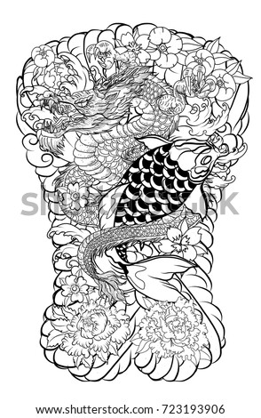 Japanese dragon tattoo designs suggest