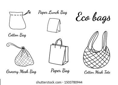 Easy Garbage Bag Drawing