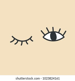 cartoon wink images stock photos vectors shutterstock rh shutterstock com Animated Winking Eyes Clip Art Large Winking Eye Clip Art