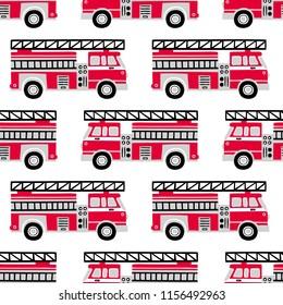 Imágenes Fotos De Stock Y Vectores Sobre Cartoon Fire Truck