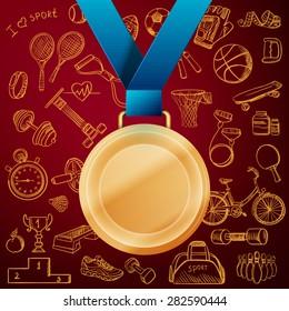 Race Medals Stock Illustrations, Images & Vectors | Shutterstock