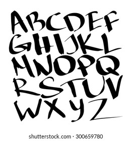 Hand drawn font for your design