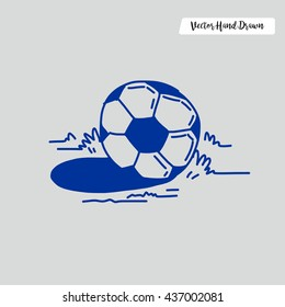 Hand Drawn Football