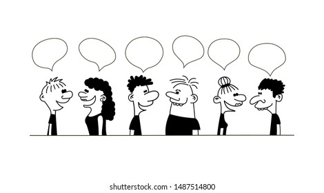 Funny Dialogue Images, Stock Photos & Vectors | Shutterstock