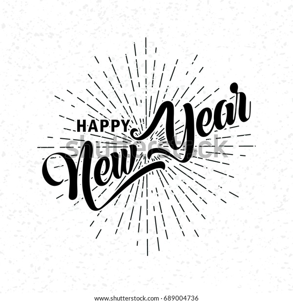 Happy New Year Font 3