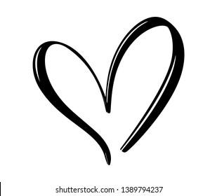 手書き ハートのイラスト素材画像ベクター画像 Shutterstock