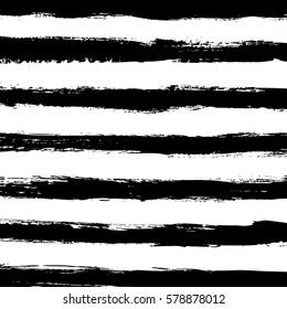hand drawn horizontal stripes pattern background