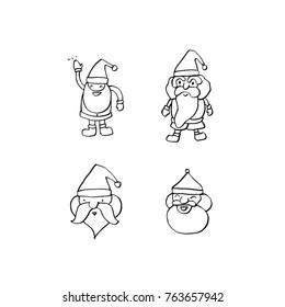 Hand drawn illustration / Happy Holiday - vector