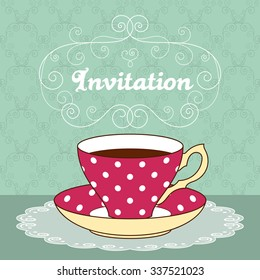 coffee invitation images stock photos vectors shutterstock