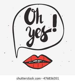 Oh Yes Images Stock Photos Vectors Shutterstock
