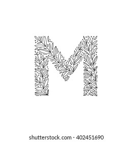 Hand Drawing Letter M Images Stock Photos Vectors Shutterstock