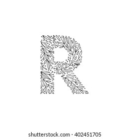 Royalty Free Flower Letter R Images Stock Photos Vectors