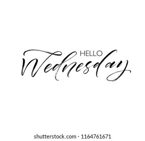 Wednesday Quotes Stock Vectors, Images & Vector Art ...