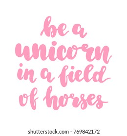 image relating to Be a Unicorn in a Field of Horses Free Printable named Be a Unicorn within a Market of Horses Illustrations or photos, Inventory Photographs