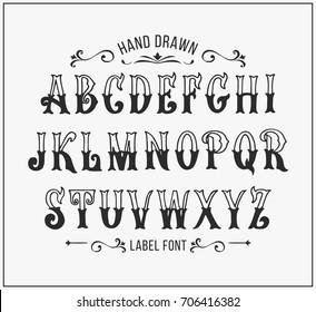 Victorian Font Images, Stock Photos & Vectors | Shutterstock