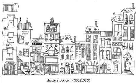 Miraculous House Line Drawing Images Stock Photos Vectors Shutterstock Download Free Architecture Designs Scobabritishbridgeorg