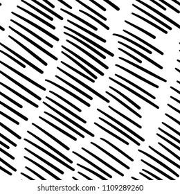 Hand drawn line pattern, grunge texture
