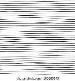 Hand drawn lines. Seamless pattern.