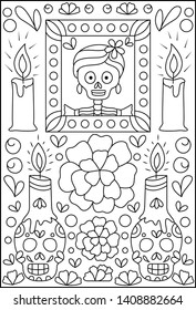 Day of the Dead Coloring Book by Thaneeya McArdle — Thaneeya.com | 280x177