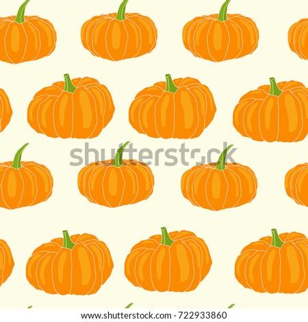 97a23adea3a Autumn halloween decoration, vegetable harvest season, thanksgiving line  art. Freehand illustration for vegan cafe, restaurant, market, shop. -  Vector
