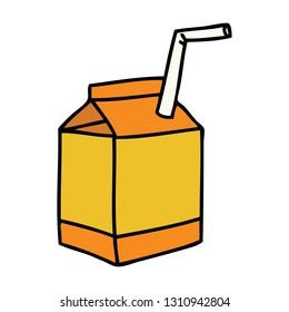 hand drawn quirky cartoon hand drawn quirky cartoon of juice