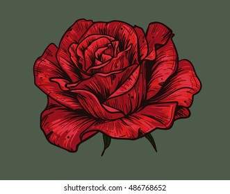 45 103 Rose Rose Tattoo Images Royalty Free Stock Photos On
