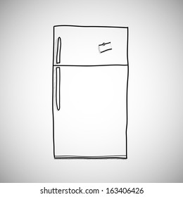 Drawing On Fridge Images Stock Photos Vectors Shutterstock