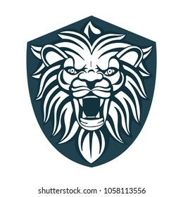 Roaring Lion Sketch Images Stock Photos Vectors Shutterstock Mascara from hands on white background. https www shutterstock com image vector hand drawn roaring lion head roar 1058113556