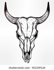 bull skull tattoo tribal images stock photos vectors shutterstock rh shutterstock com cow skull tattoo with flowers cow skull tattoo meaning