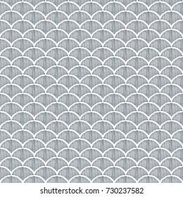 hand drawn seamless vector pattern