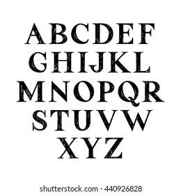 Imágenes, fotos de stock y vectores sobre Sketch Serif