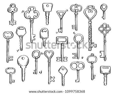 antique key diagram wiring diagrams click telephone parts diagram hand drawn set different antique key stock vector (royalty free antique phone wiring diagram antique key diagram
