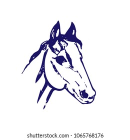 Royalty Free Horse Drawing Images Stock Photos Vectors Shutterstock